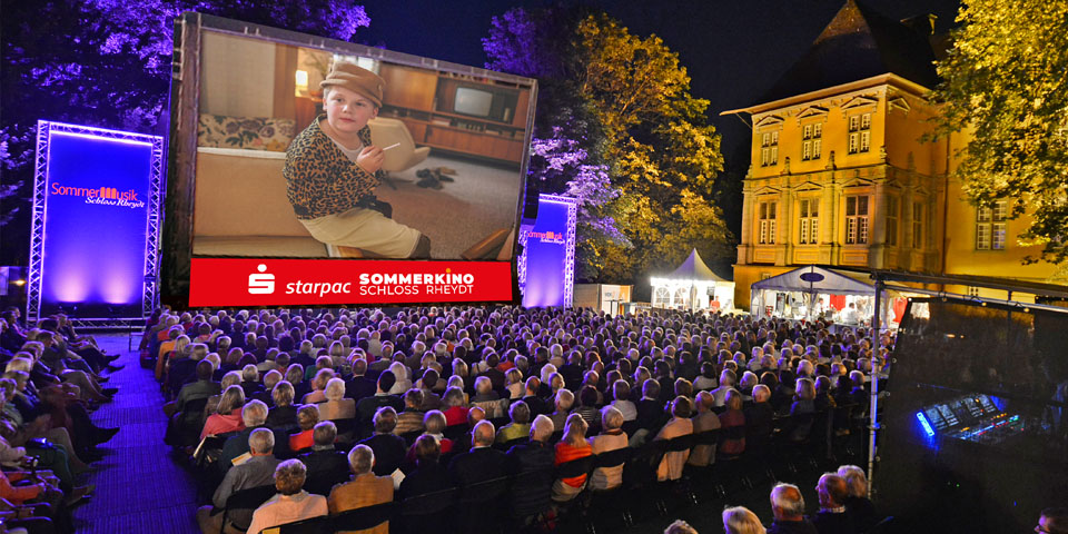 Starpac Open Air  Sommerkino Schloss Rheydt