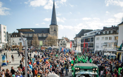Gladbach jeckes Narrennest im Strassenkarneval