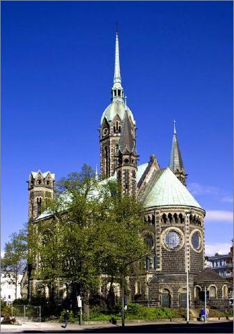 Ev. Hauptkirche Rheyd (c) Olaf D. Hennig