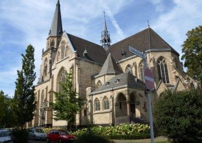 """Die katholische Kirche St. Josef  """"Juppekerk"""" im Stadtteil Mönchengladabach Rheydt"""