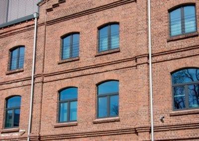 Moderne Büros hinter historischer Fassade: das Kühlen-Quartier in Mönchengladbach, Kühlenstrasse