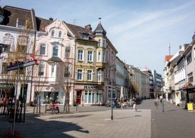 Aretzplätzken Stadtteil Eicken in Mönchengladbach