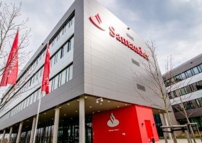 Hauptverwaltungsgebäude Santander Bank