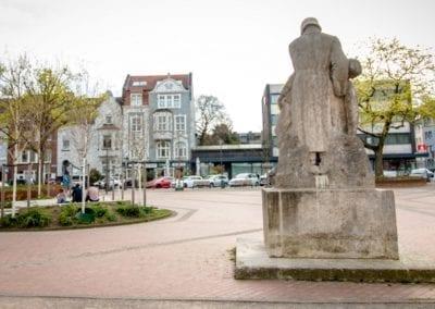 Schillerplatz im Gründerzeitviertel Mönchengladbach