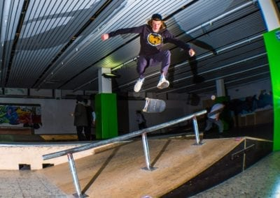 Skatehalle Rollmarkt (c) Mario Wernado