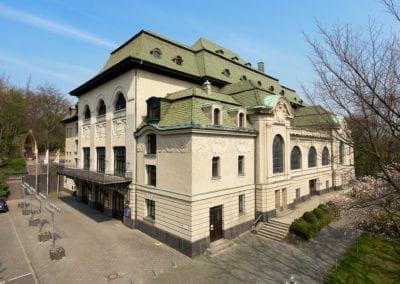 Die Kaiser-Friedrich-Halle - die Event-Location in Mönchengladbach -  mit zeitgemäßer Ausstattung in repräsentativem Jugendstilgebäude mit Flair und Ambiente.