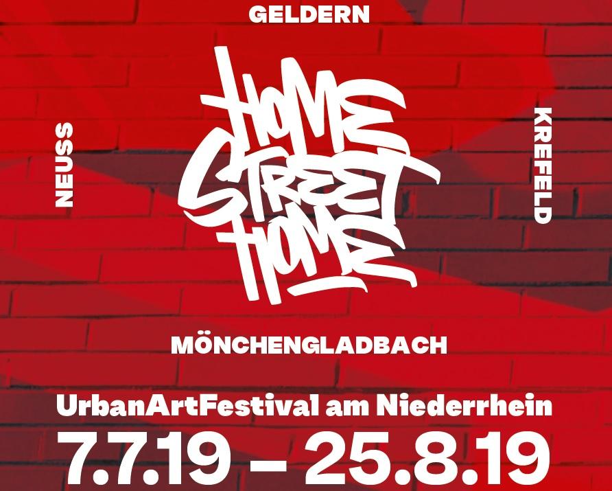 Urban Art Festival on the Lower Rhine