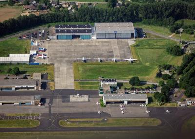 Mo╠ênchengladbach Flughafen EDLN 7351 © Flughafen Mönchengladbach