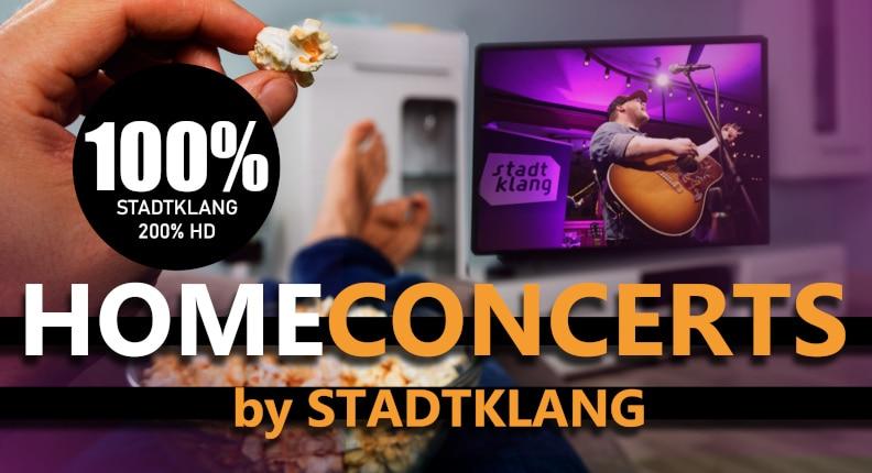 stadtklang Homeconcerts - per livestream ins Wohnzimmer!