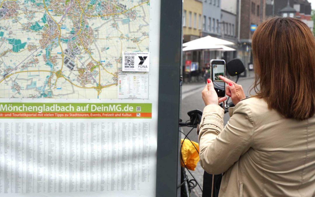 Digitales Sightseeing mit der YONA App