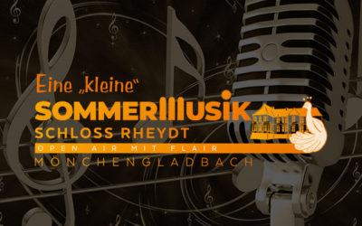 """Eine """"kleine Sommermusik"""" Schloss Rheydt"""