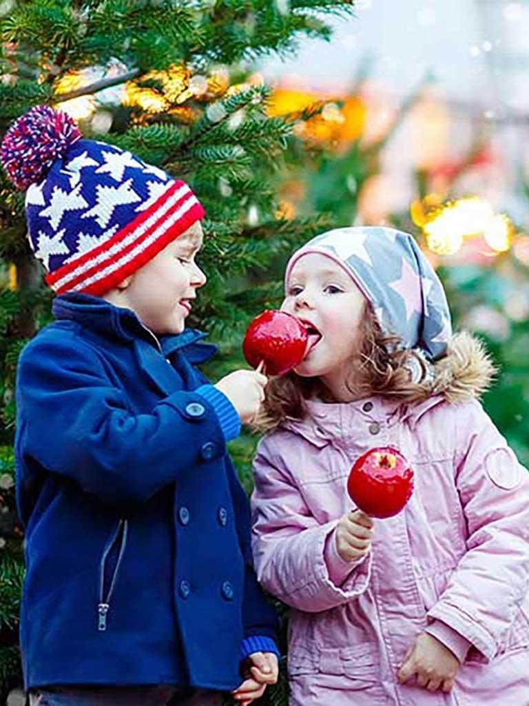 Süsse Weihnachtskindertour