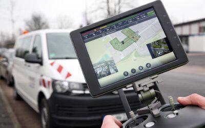 Vermessung per Drohne für Kanal-Maßnahmen