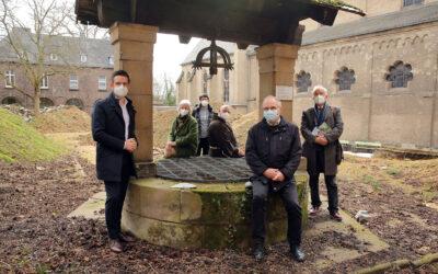 Neugestaltung des Brunnenhofes startet