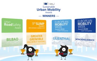MG gewinnt European Mobility Week Award
