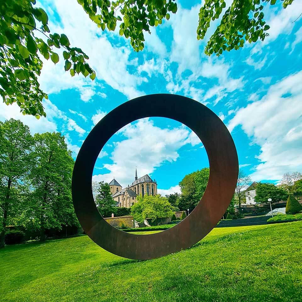 Skulpturengarten Skulptur Anello