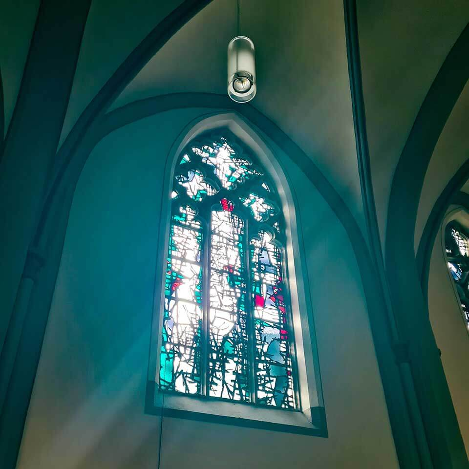 Kirchenfenster Glasmalerei