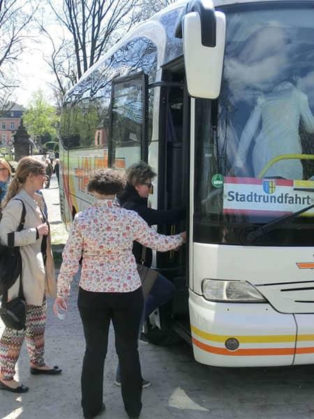 Stadttouren mit dem Bus
