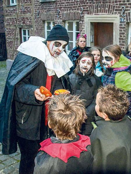 Halloween Kindertour