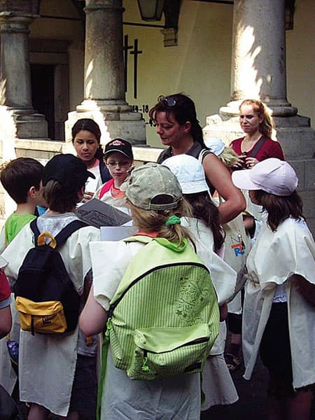 Kinder als Mönche Tour