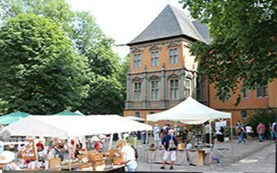 18. Töpfermarkt auf Schloss Rheydt