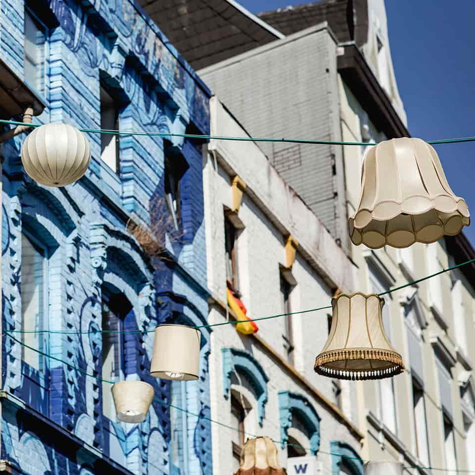 Altstadt Mönchengladbach Lampenschirme