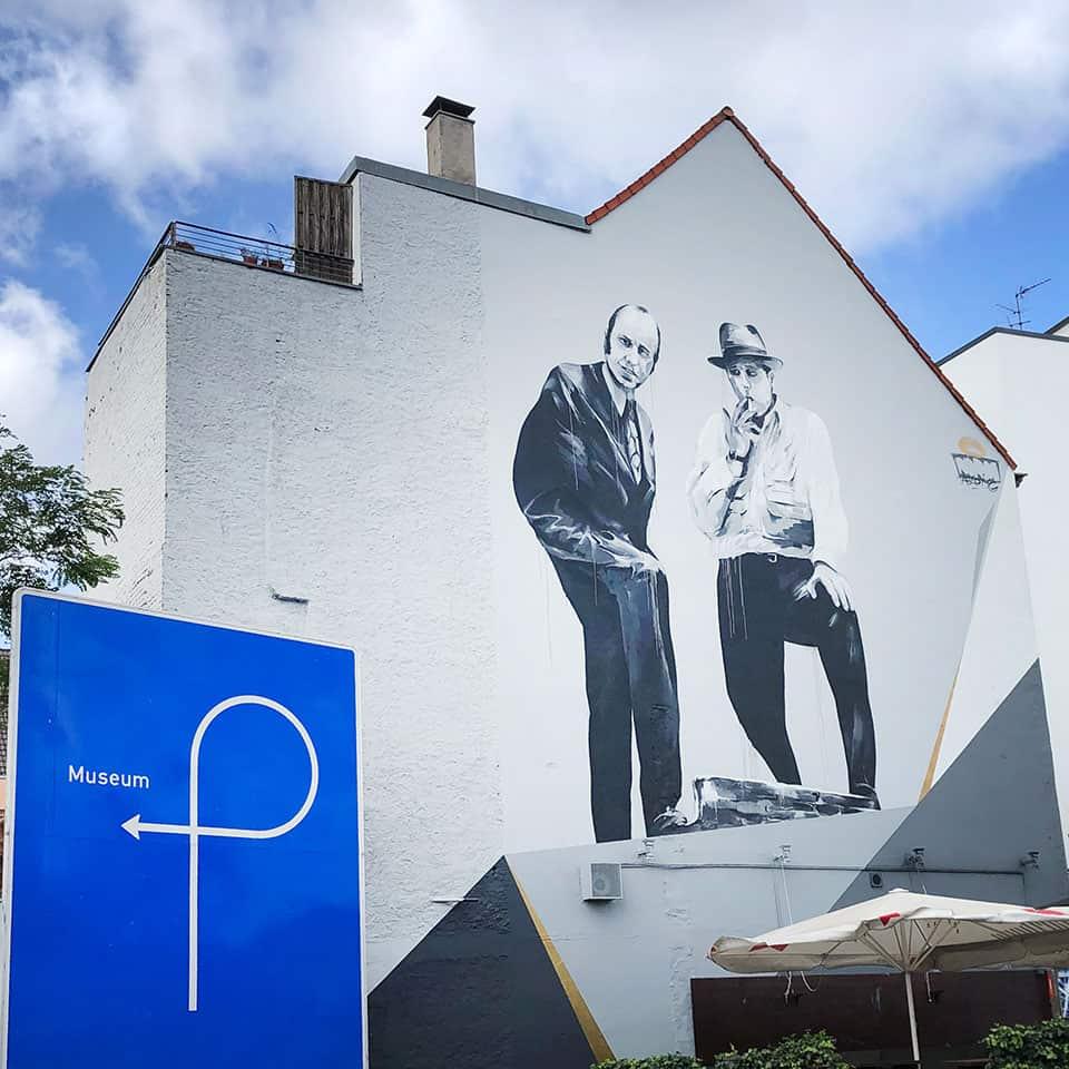 Digitale Beuys Tour Graffiti