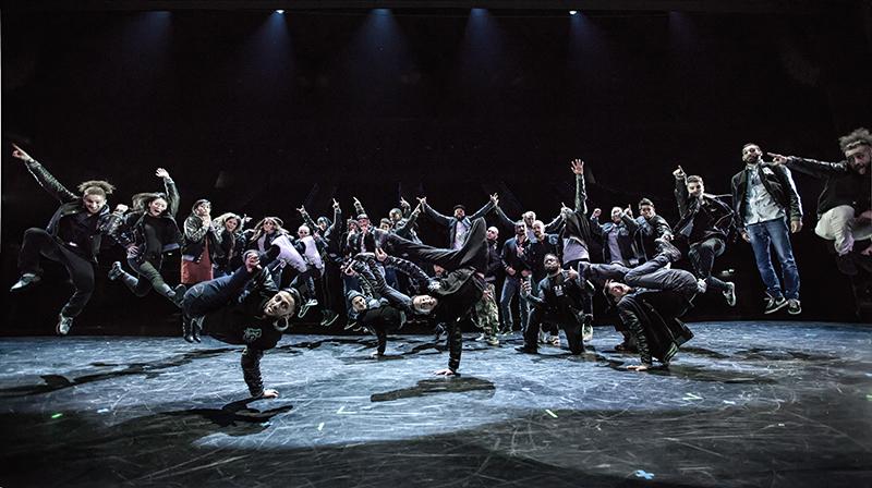 Breakdance-Show und Workshop der Flying Steps