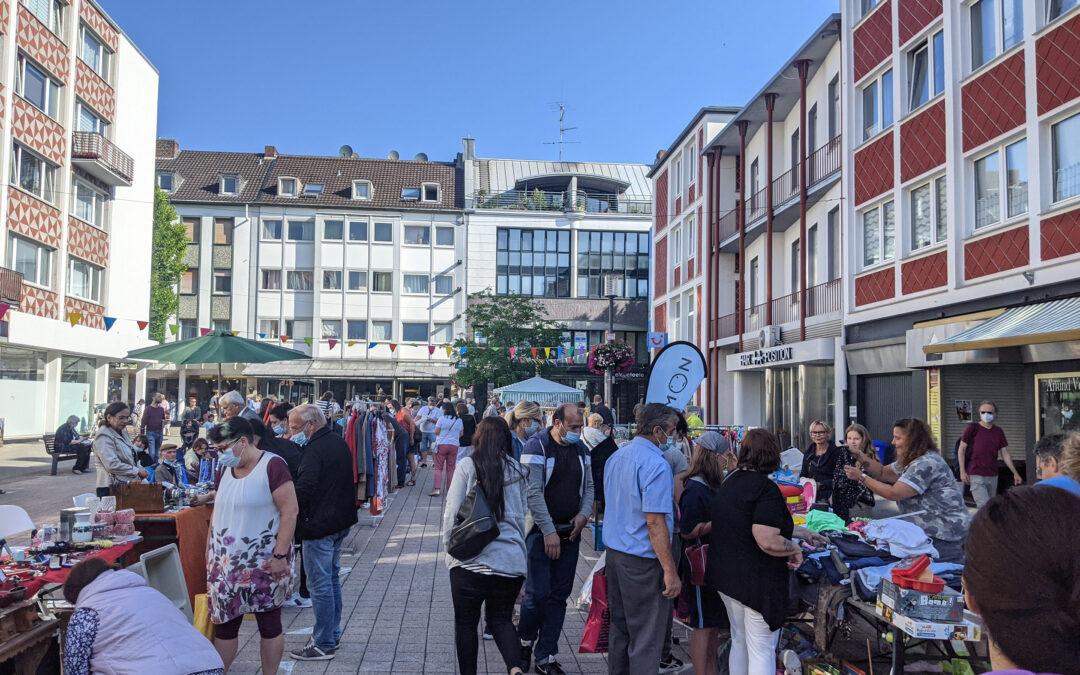Flohmarkt in der Rheydter Innenstadt